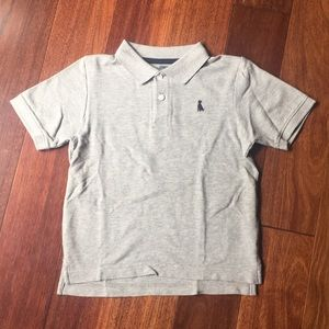 Gymboree Pima cotton polo shirt wth dog embroidery